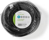 Nedis Power Extension Cable | 15 m | H05VV-F 3G1.5 | IP44 | Black, PECN115FBK