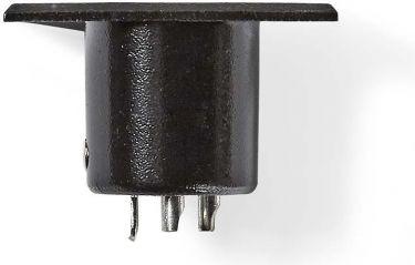 Nedis XLR Chassis Mount | XLR 3-pin Male | Black, COTP15910BK