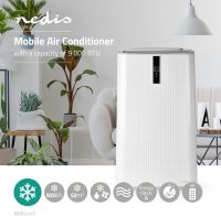 Nedis Mobilt airconditionanlæg | 9000 BTU | Energiklasse A | Fjernbetjening | Timerfunktion, ACMB1WT