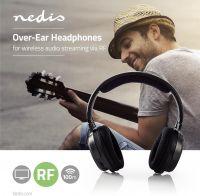 Nedis Trådløse hovedtelefoner | Radiofrekvens (RF) | Over-ear | Sort, HPRF200BK