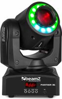 Moving Heads, BeamZ Panther 35 Led Spot Moving Head Med Led Ring