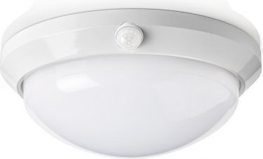 Nedis LED Ceiling Light with Sensor and Backup Battery | 16 W | Safety Light 3-Hour | Outdoor - IP54
