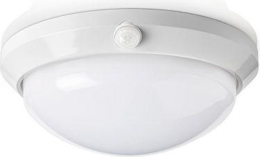 Nedis LED-Loftslampe med Sensor og Backupbatteri 16 | W | Sikkerhedslys 3 Timer | Udendørs – IP54, P