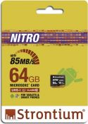"Sortiment, <span class=""c10"">Strontium -</span> Micro SD kort Nitro, SDXC, 64GB, UHS-I (U1)"