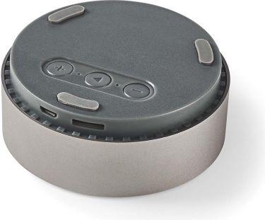 Nedis Bluetooth®-højttaler | 9 W | Metaludformet design | Metalgrå, SPBT1001GY