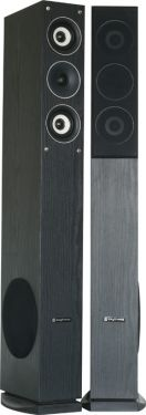 """Hi-Fi højttalersæt SHFT52B, 3-vejs gulvmodel med 6.5"""" bas/subwoofer / 500W, sort"""