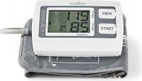 Nedis Upper-Arm Blood Pressure Monitor | Large LCD | 2 x 60 Memory Storage, BLPR110WT
