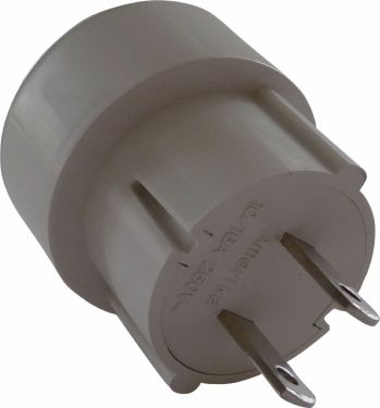 Fixapart Travel Adapter Europe-to-USA Unearthed, EL-TRAVEL02