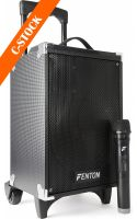 "ST050 Portable Sound System 8"" with BT/MP3/USB/SD/VHF ""C-STOCK"""