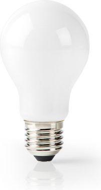 Nedis Wi-Fi Smart LED-pære | E27 | A60 | 5 W | 500 lm | Hvid, WIFILF11WTA60