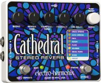 """Electro Harmonix Cathedral Stereo Reverb, """"Enter the Cathedral and"""
