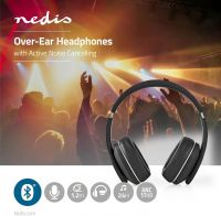 Nedis Wireless Headphones | Bluetooth® | Over-ear | Active Noise Cancelling (ANC) | Black, HPBT3260B