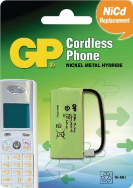 GP Genopladelige Ni-MH-batteri 2.4 V 600 mAh 1-Bobler, 220356C1