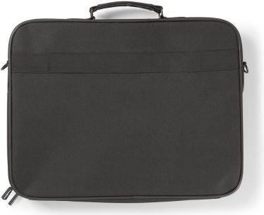 "Nedis Notebook Bag | Shoulder Strap | Accessory Storage Pockets | 17-18"", NBBG17100BK"