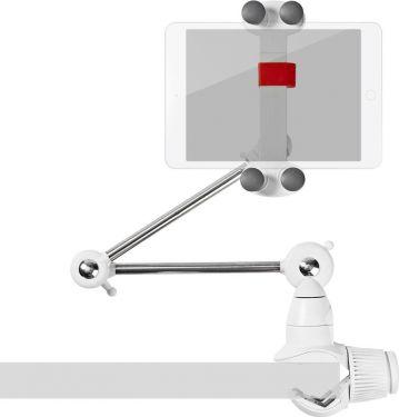 Nedis Tablet og smartphone-beslag | Sammenklappelig arm | 10-30,5 cm | Fuldt bevægeligt, TDMT111WT