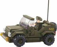 Sluban Byggeklodser Army Serie Jeep, M38-B0296