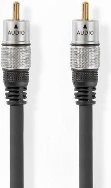 Nedis Digitalt lydkabel | RCA-hanstik - RCA-hanstik | 2,50 m | Grå, CAGC24170AT25