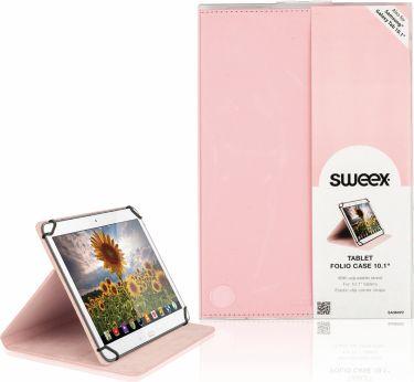 """Sweex Tablet Folio Case 10"""" Universal Pink, SA364V2"""