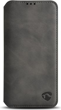 Nedis Soft Wallet Book for Apple iPhone 11 | Black, SSW20008BK