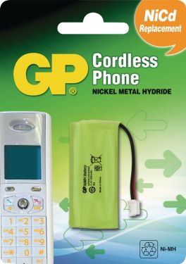GP Genopladelige Ni-MH-batteri 2.4 V 550 mAh 1-Bobler, 220382C1