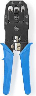 Nedis Crimping Plier Tool | RJ45 / RJ11 | Blue, CCGP89510BU