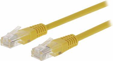 Valueline CAT5e UTP Network Cable RJ45 (8P8C) Male - RJ45 (8P8C) Male 10.0 m Yellow, VLCT85000Y100