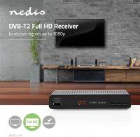 Nedis DVB-T2-modtager, DVBT2265BK