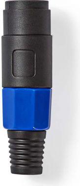 Nedis Højttalerstik | 4-benet højttalerhanstik | Sort, COTP16901BK