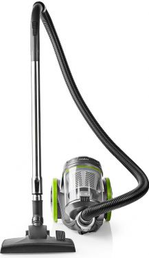 Nedis Vacuum Cleaner | Bagless | 700 W | 3.5 L Dust Capacity | Green, VCBS500GN