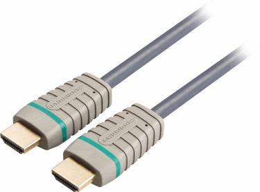 Bandridge High Speed Hdmi Kabel Med Ethernet HDMI-Stik - HDMI-Stik 3.00 m Blå, BVL1203