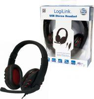 "LogiLink USB stereo ""Gaming"" headset m. mikrofon"