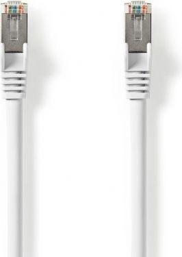Nedis Cat 8.1 S/FTP Network Cable | RJ45 Male to RJ45 Male | 0.50 m | White, CCGP85520WT05