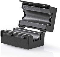 Nedis Videoferritfilter | 300 MHz | Til kabeldiameter op til 7,5 mm | 25 stk. | Sort, CVVC48914BK