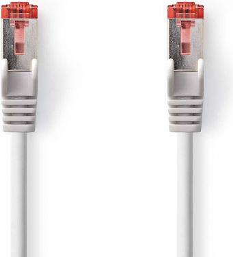 Nedis Kat. 6 S/FTP-netværkskabel | RJ45-hanstik | RJ45-hanstik | 15 m | Grå, CCGP85221GY150