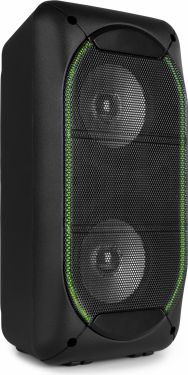"SBS60 Party Speaker 2x 4"" BT LED USB"