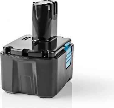 Nedis Power Tool Battery | Li-Ion | 14.4 V | 4 Ah | 57.6 Wh | Replacement for Hitachi, P4AHHI14V401