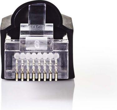 Nedis Sæt med netværksstik | RJ45-hanstik + med trækaflastningsmuffe | Til massiv kat. 5 UTP-kabler
