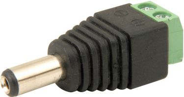 2.1mm DC Plug with screw in terminals