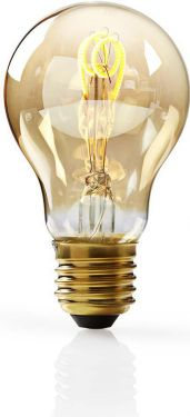 Nedis Dæmpbar LED-vintageglødepære E27 | A60 | 3 W | 100 lm, LEDBTFE27A60