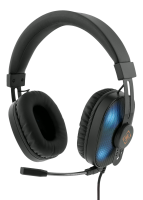 """<span class=""""c10"""">Deltaco -</span> GAMING Stereo Headset Running RGB LED, Sort"""