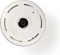 Nedis IP Security Camera | 1280x960 | Panorama | White / Black, IPCMP20CWT