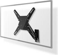 "Nedis Vertikalt tv-vægbeslag | 29-55"" | Maks. 20 kg | 345 mm vertikal rækkevidde, TVWM2730BK"