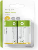 Nedis Alkaline Battery D | 1.5 V | 2 pieces | Blister, BAAKLR202BL