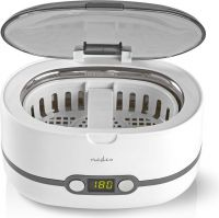 Nedis Ultrasonic Jewellery Cleaner | 600 ml Capacity | Digital Timer, JECL110WT