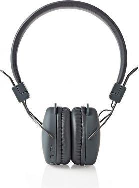 Nedis Trådløse hovedtelefoner | Bluetooth® | On-ear | Foldbar | Grå, HPBT1100GY