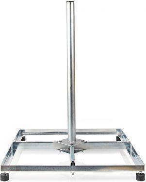 Nedis Nedis Satellite Balcony Stand | Max Dish Size: 90 cm | 4 x 50 x 50 cm | Steel, SDBS120ME