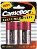 "Batterier og tilbehør, <span class=""c10"">Camelion -</span> Camelion Alkaline D/LR20 batt. 1,5V / 16500mAh (2 stk.)"