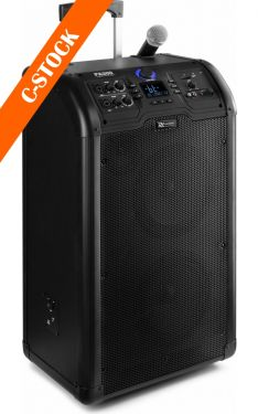"PA300 Portable 2 x 8"" Sound System SD/USB/MP3/Bluetooth ""C-STOCK"""