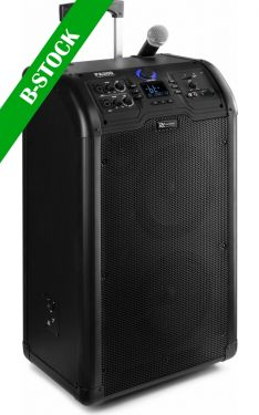 "PA300 Portable 2 x 8"" Sound System SD/USB/MP3/Bluetooth ""B-STOCK"""