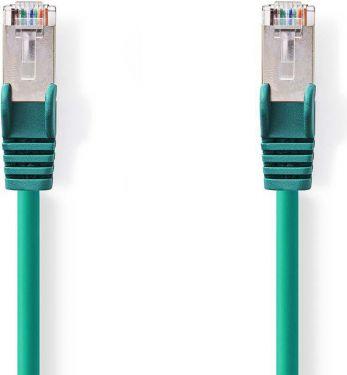 Nedis Kat. 6 S/FTP-netværkskabel   RJ45-hanstik   RJ45-hanstik   0,25 m   Grøn, CCGP85221GN025